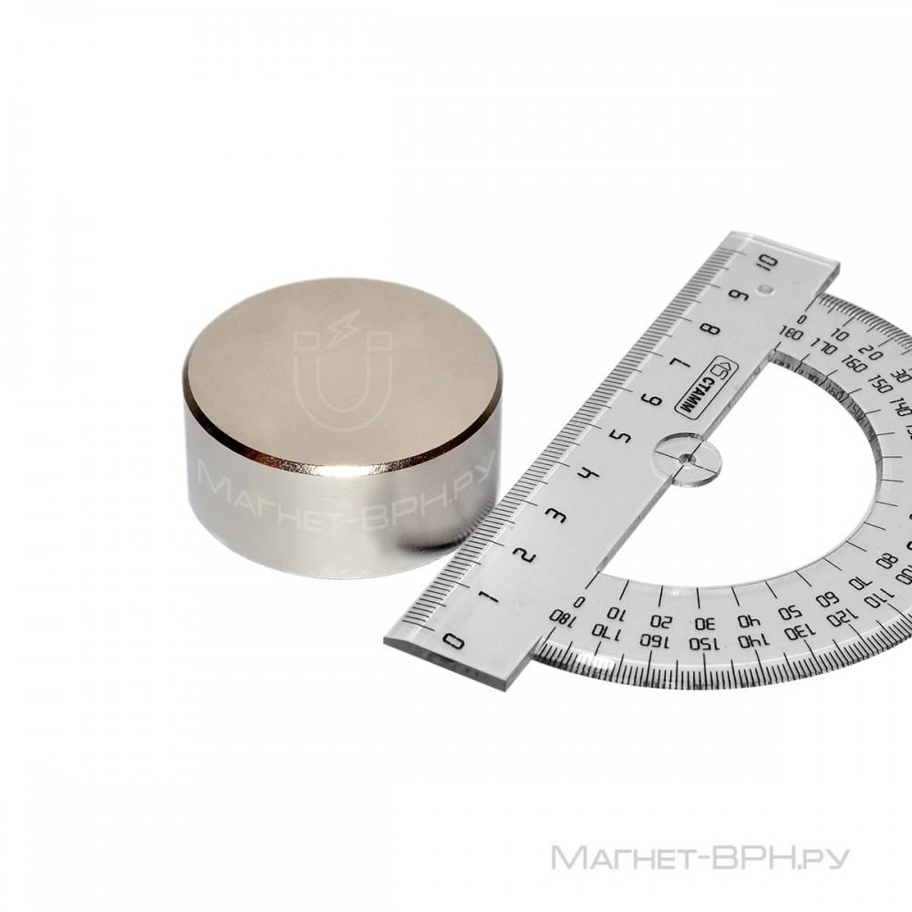 Неодимовый магнит 45х20 мм