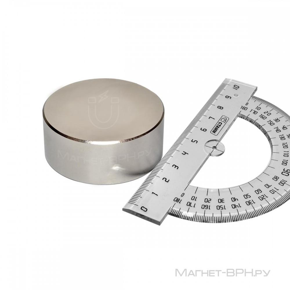 Неодимовый магнит 55х25 мм