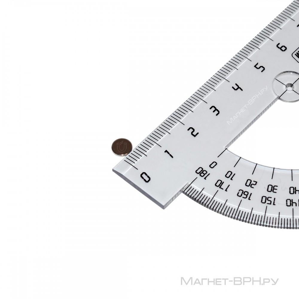 Неодимовый магнит 6х1мм