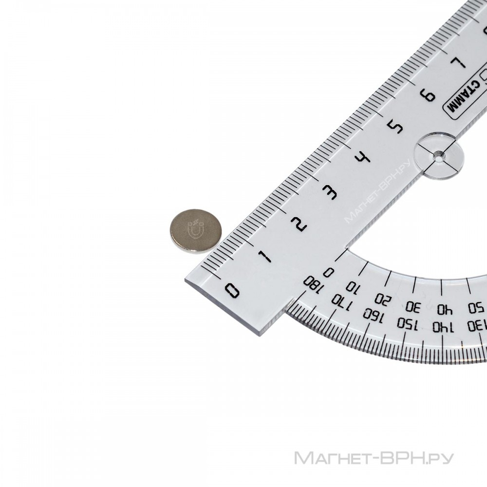 Неодимовый магнит 9х1 мм