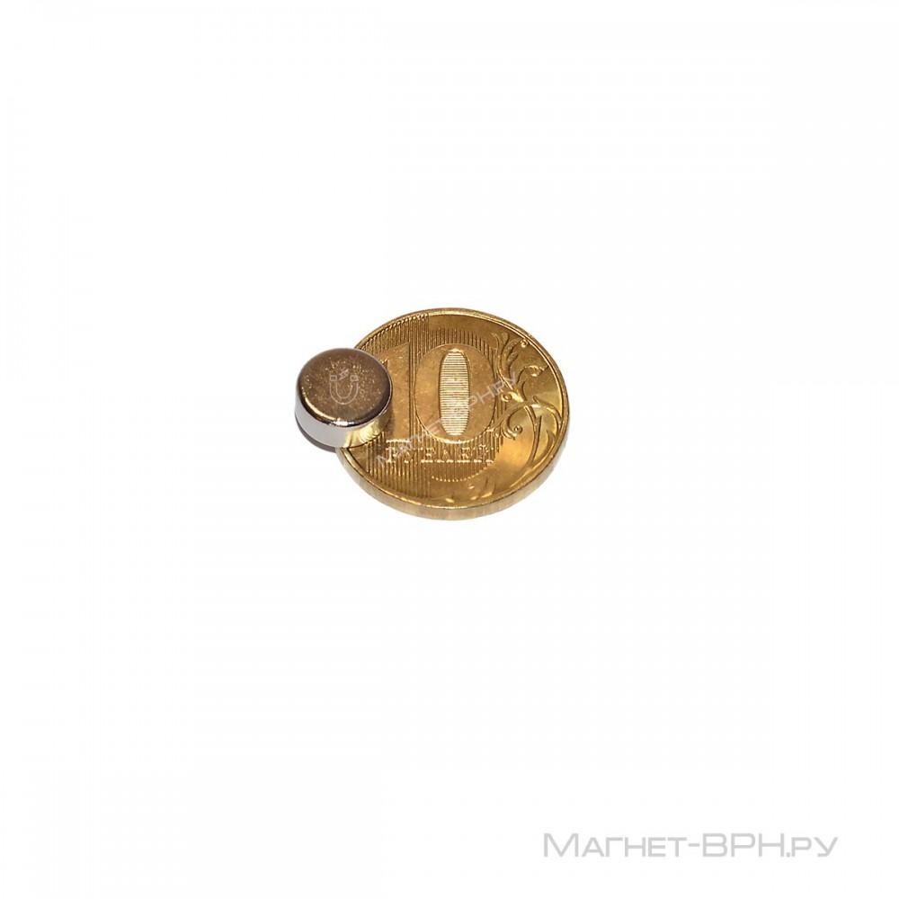 Неодимовый магнит 9х4 мм