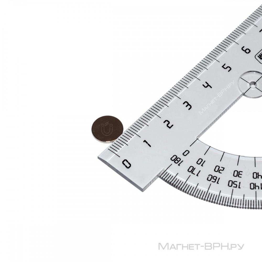 Неодимовый магнит 10х1 мм