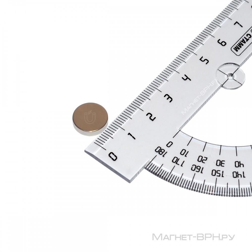 Неодимовый магнит 12х3 мм