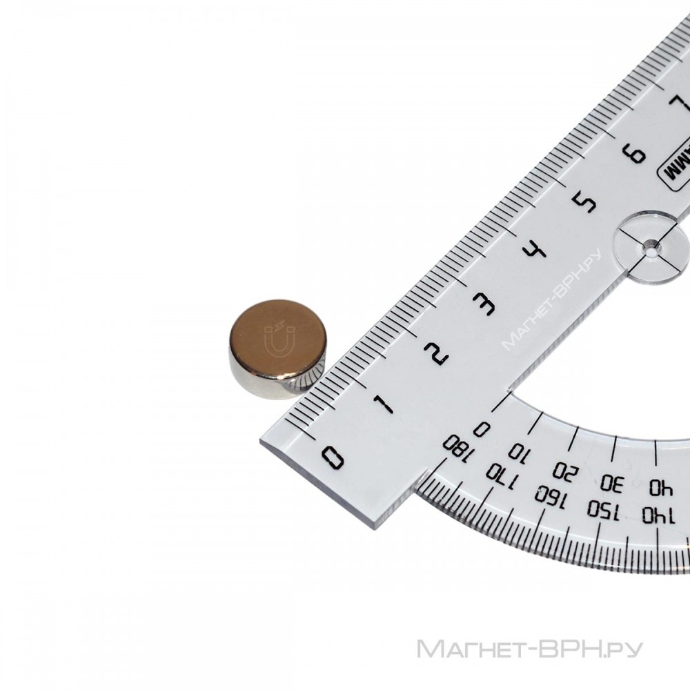 Неодимовый магнит 12х5 мм