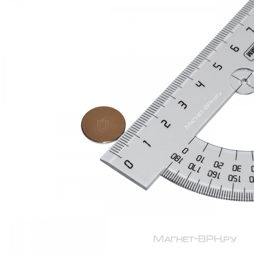 Неодимовый магнит 15х1 мм