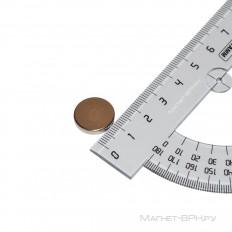 Неодимовый магнит 15х3 мм