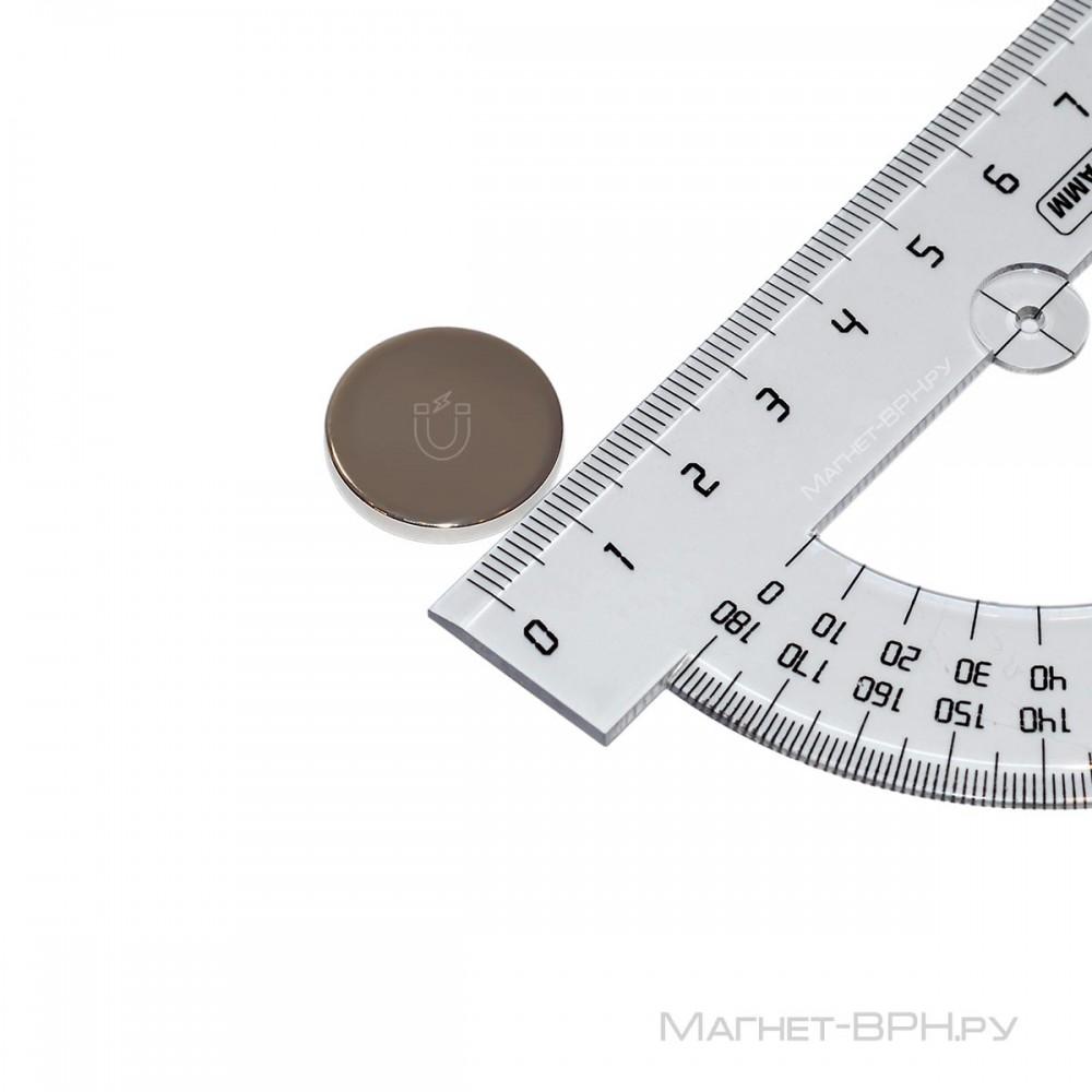 Неодимовый магнит 20х2 мм