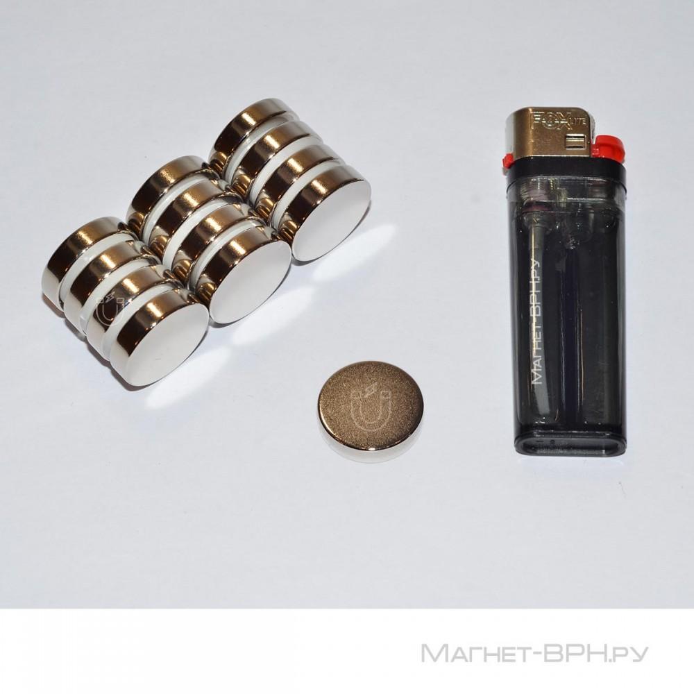 Неодимовый магнит 20х5 мм