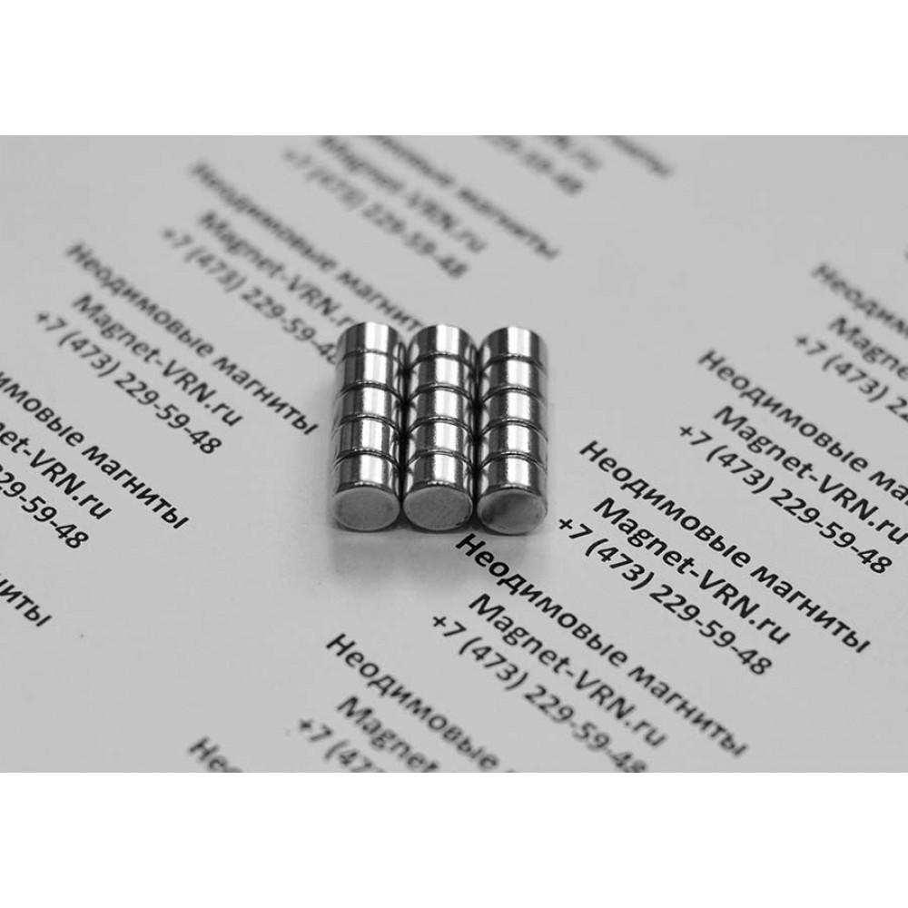 Неодимовый магнит 8х5 мм