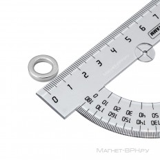 Неодимовый магнит кольцо 16х10х3 мм
