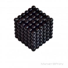 Неокуб черный 5 мм, 216 шариков