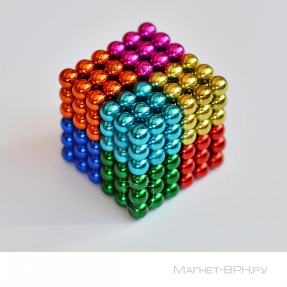 Неокуб цветной 5 мм, 216 шт