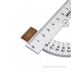 Неодимовый магнит призма 20х10х4 мм