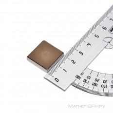 Неодимовый магнит призма 20х20х5 мм