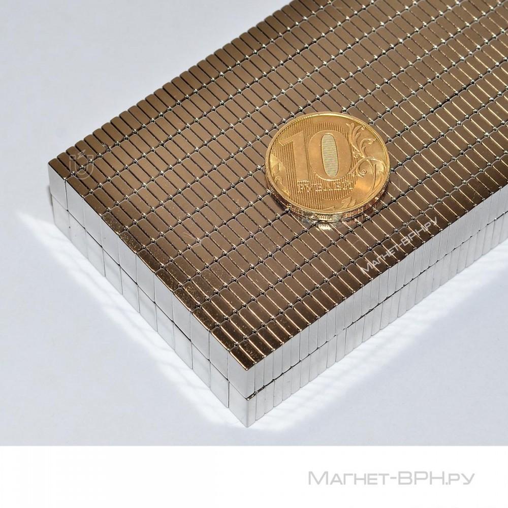 Неодимовый магнит призма 10х5х2 мм