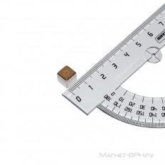 Неодимовый магнит призма 8х8х8 мм