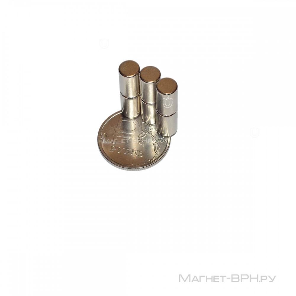 Неодимовый магнит пруток 6х10 мм